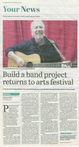 Pete Castle Belper News - Build a Band Tribute